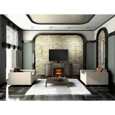 napoleon whitney 24 in mantel package electric fireplace in deep