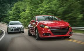2013 dodge dart rallye vs 2012 ford focus se comparison test