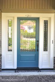 glass for front doors hello passersby aka we got a new front door house updated