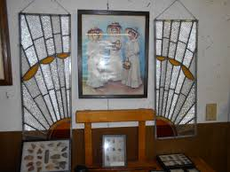 stained glass work table design stained glass mazzone s auction service