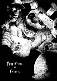 five nights at freddy s halloween horror nights five nights at freddy u0027s wip ink by eyeofsemicolon on deviantart