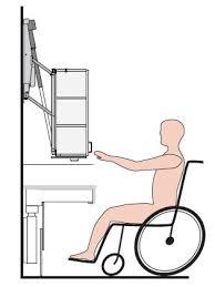 cuisine handicap norme l aménagement d une cuisine pour une personne en fauteuil roulant