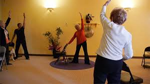 Armchair Yoga For Seniors Online Senior U0026 Chair Yoga Yoga Vista Studio