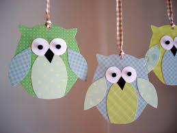 kenenske paper owl mobile