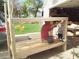 built in bunk beds diy home decor ideas