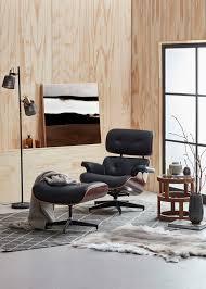 new milan direct eames classic replica lounge chair u0026 ottoman ebay