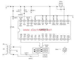 electrolytic capacitor powering a digital alarm clock with ac