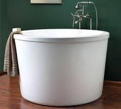 Bathtubs Free Standing Freestanding Japanese Soaking Tub U2013 Seoandcompany Co