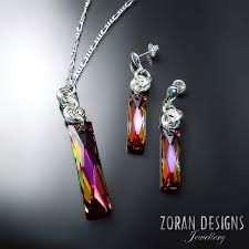 necklace designs with crystals images Swarovski crystal jewellery zoran designs jewellery jpg