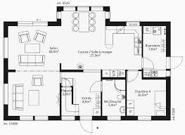 plan maison contemporaine plain pied 3 chambres plan maison 3 chambres plain pied meilleur de plan maison