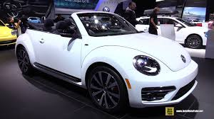 white volkswagen convertible 2015 volkswagen beetle convertible exterior and interior