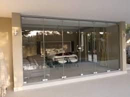 frameless glass exterior doors frameless sliding folding doors