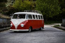 volkswagen fire the legendary volkswagen kombi gets futuristic high tech all