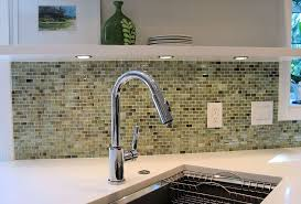 recycled glass backsplashes for kitchens modern kitchen designed with recycled glass backsplash and single