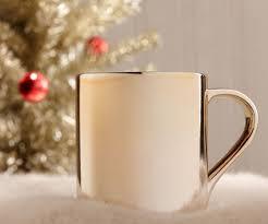 silver mug starbucks ceramic gradient gold and silver mug gadget flow