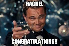 Rachel Meme - leonardo dicaprio cheers meme imgflip