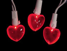 valentines day lights heart lights decorations décor season charm