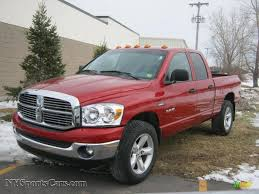 Dodge Ram 4x4 - 2008 dodge ram 1500 big horn edition quad cab 4x4 in inferno red