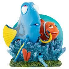 disney pixar finding nemo dory and marlin 6 aquarium ornament