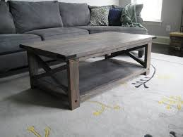 light grey coffee table best weathered coffee table with shelf gray rustic tables pertaining