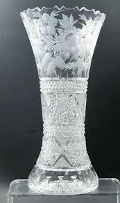 Large Martini Glass Centerpieces by Square Glass Vases Bulk Abp Cut Glass Fan Vase Antique Square