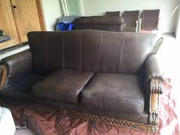 How To Dye Leather Sofa Dyed Leather Couch Makeover Diyher
