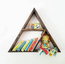 floating shelf triangle shelf triangle shelves baby