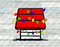 snoopy doghouse christmas decoration doghouse etsy