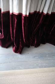 Burgundy Velvet Curtains 35 Best Curtains Images On Pinterest Curtain Designs Curtains