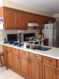 Kitchen Cabinet Bulkhead The Fox U0027s Den A Transitional Oakville Kitchen Renovation
