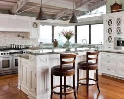 The Coastal Kitchen - a coastal kitchen tiles backsplash brings the ocean inside