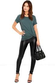 cool vegan leather leggings black leggings vegan leather pants