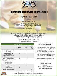 lexus of richmond lease richmond open golf tournament fundraiser u2013 richmond u0027s 200th