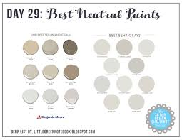 Neutrals Wall Color 30 Day Postbox Design Challenge Day 29 Picking The Perfect