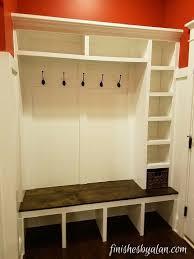 mudroom storage bench bonners furniture