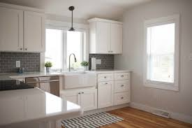 Shaker Style White Cabinets Kitchen Room Design Beach Style Decorating Kitchen Beach Style