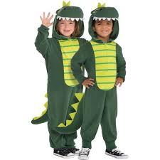Child Dinosaur Halloween Costume Zipster Dinosaur Piece Costume