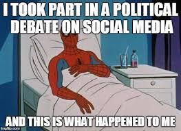 Memes Social Media - spiderman hospital meme imgflip