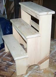 these shaker furniture plans are for a 3 step step stool