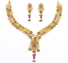 ladies gold necklace images Gold jewellery ladies gold necklaces jpg