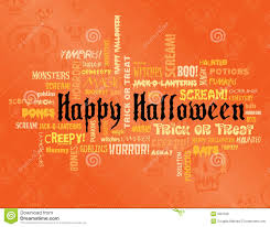 happy halloween scary images happy halloween and other scary words stock photography image