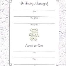 memorial book baby or child memorial guest book funeral register book in blue
