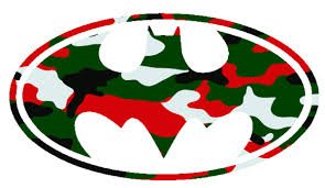 camo christmas batman logo christmas camo cut free images at clker vector