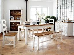 Esszimmertisch Quentin Essgruppe Essecke Massiv Holz Bodde Used Look Vintage Tisch Set