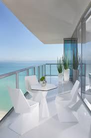 custom modern miami patio furniture in condo style
