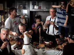 mad about you thanksgiving episode anthony bourdain u0027s surprisingly traditional thanksgiving food u0026 wine