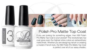nsi polish pro matte top coat 5oz 12 pack u2013 international