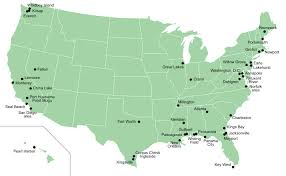map us army bases us army bases in usa map