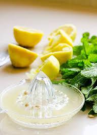 lemon mint dressing ifoodreal