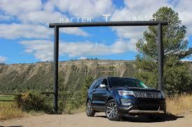 Ford Explorer Platinum - scenic route review 2016 ford explorer platinum